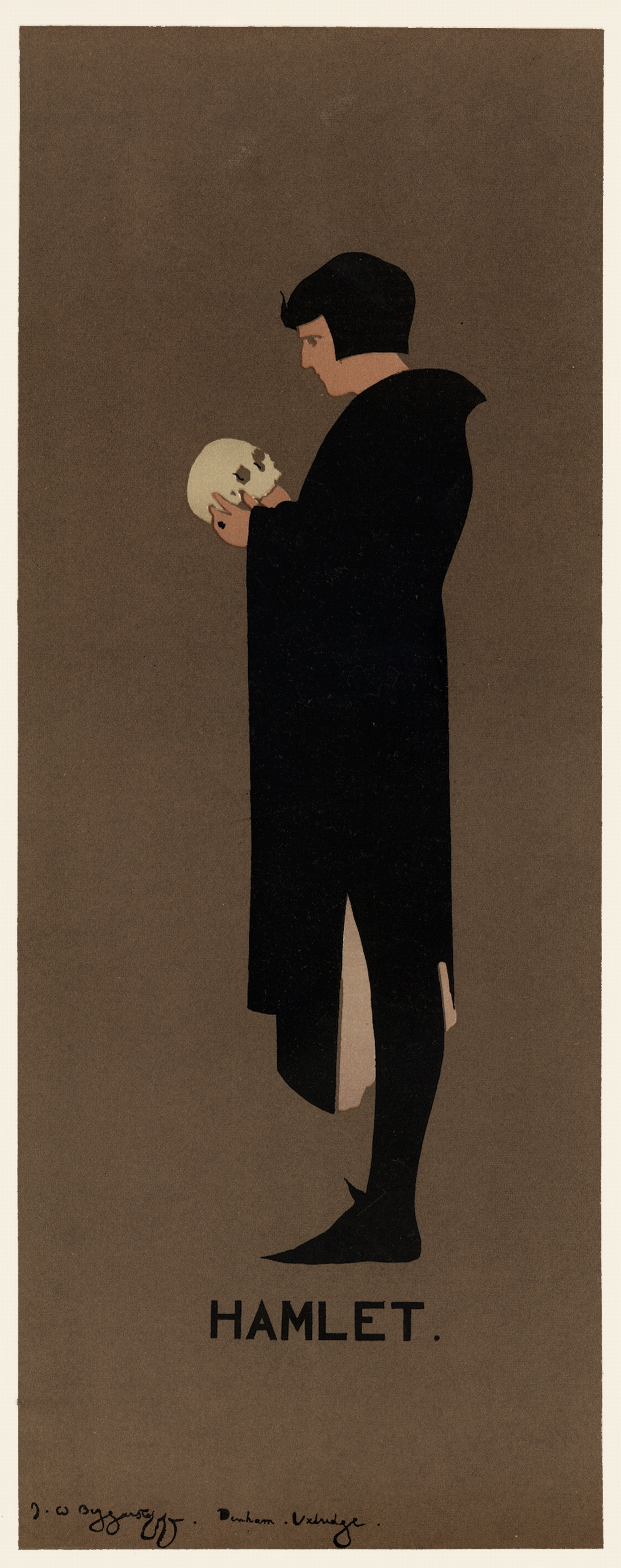Hamlet - The Beggarstaffs | Vintage French Posters Poster ...